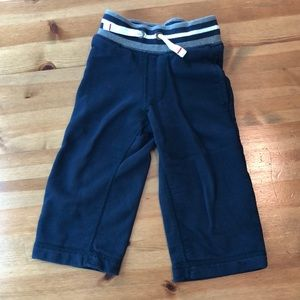 Navy Hanna Andersson toddler boys pants
